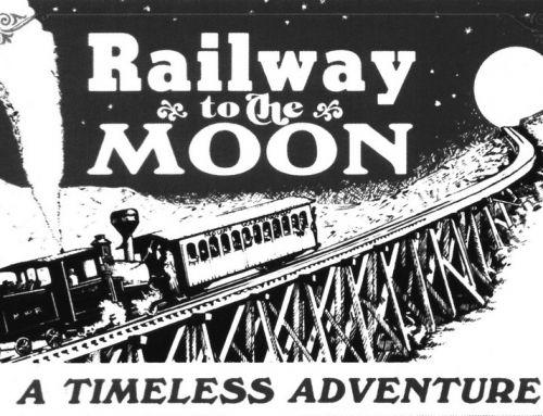 Eisenbahn zum Mond