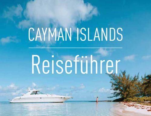 Jetzt deutschsprachigen Cayman-Reiseführer für den Counter bestellen