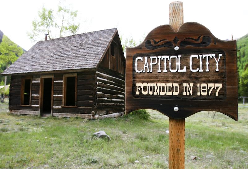 Capitol City - eine Geisterstadt nahe Lake City