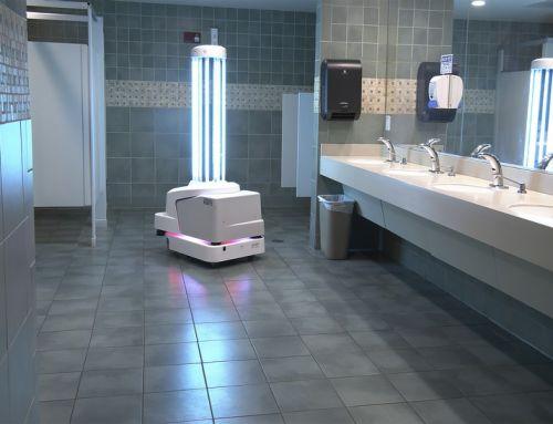 Desinfektionsroboter wird am Flughafen in Key West eingesetzt