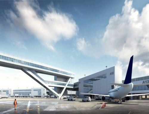 Neue Ankunftshalle für internationale Flüge am SEA